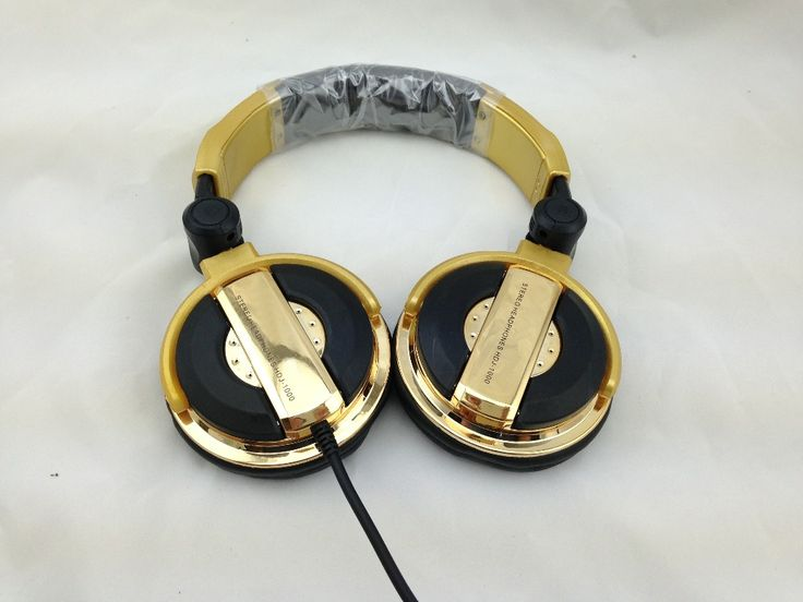 >> Click to Buy << DJ headphones big fone de ouvido noise isolating ecouteur professional monitoring casque audio golden oordopjes wired headset #Affiliate