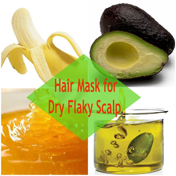 3 #DIY #hairmask for dry flaky scalp for neglected #haircare