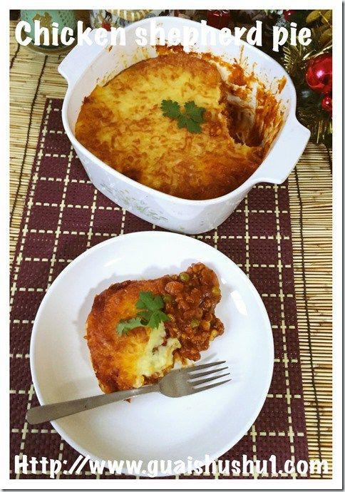 Classic Cottage or Shepherd Pie (牧羊人馅饼)#guaishushu #kenneth_goh   #shepherd_pie  #cottage_pie