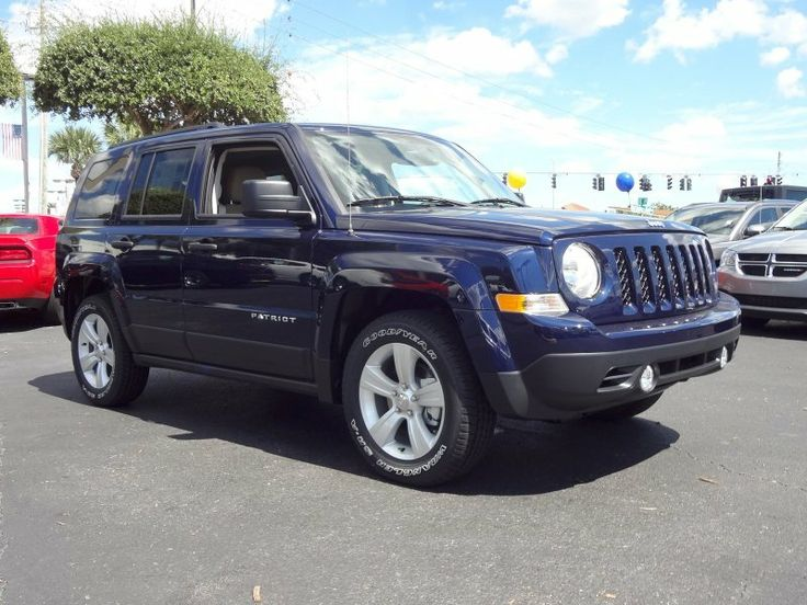 2014 Jeep Patriot Sport - True Blue