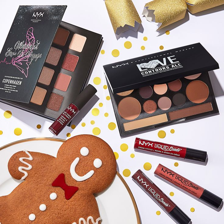We need something a little sweet today. Nyx makeup it is! #nyxcosmetics