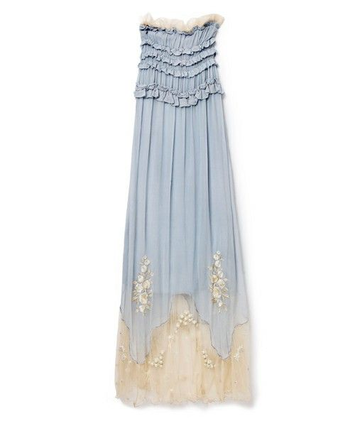 snidel / パール刺繍ベアマキシワンピース(ワンピース・ドレス) - ZOZOTOWN