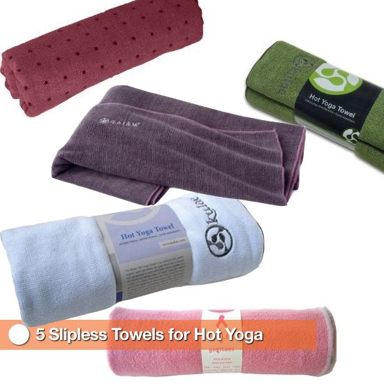 5 yoga towels recommendations for sweaty yoga worth the investment- not worth getting injured!