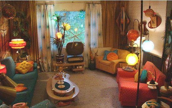 18+ 1950s living room furniture information