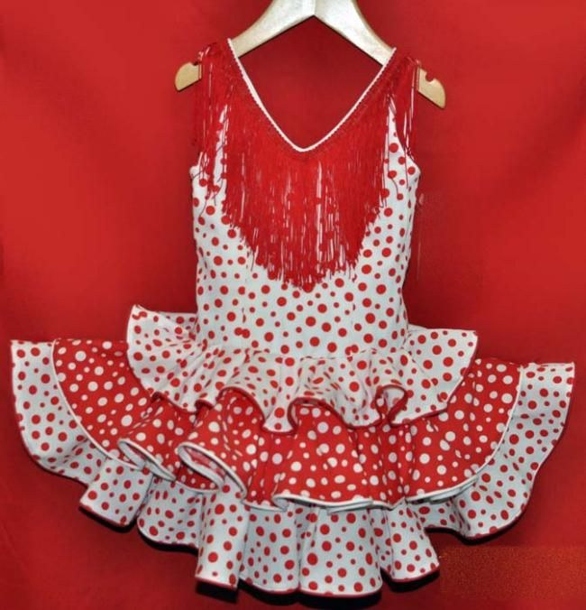 patron de vestido de flamenca para niña - Buscar con Google