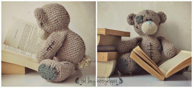 The Lazy Hobbyhopper: Tatty Teddy - new #crochet pattern