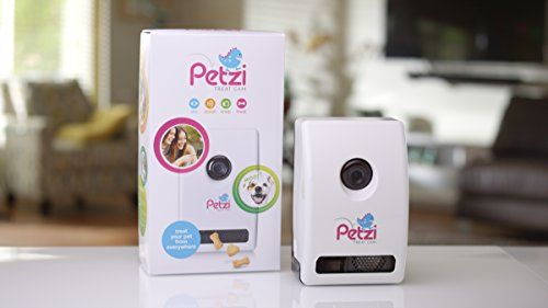 Petzi Treat Cam: WiFi Pet Camera. You don't even need your own dog. Just put it in someone else's house!