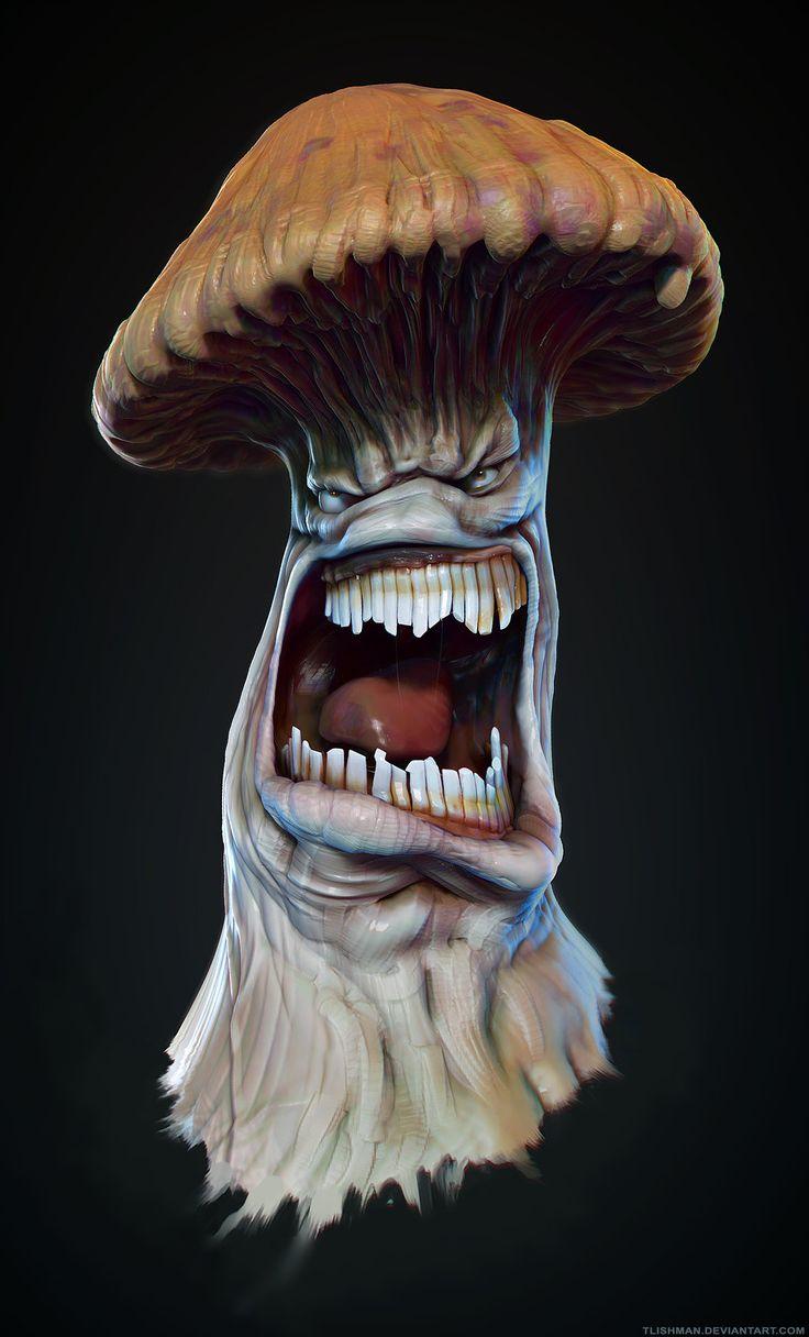 Infected Mushroom Fanart by TLishman.deviantart.com on @deviantART