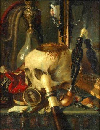 Constantin Daniel Rosenthal - Vanitas - 1848