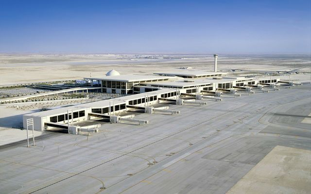 Dammam King Fahd International Airport, Saudi Arabia
