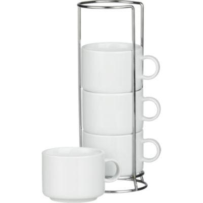 Coffeemugsmetalrackot9 400 215 400 Metal Rack White