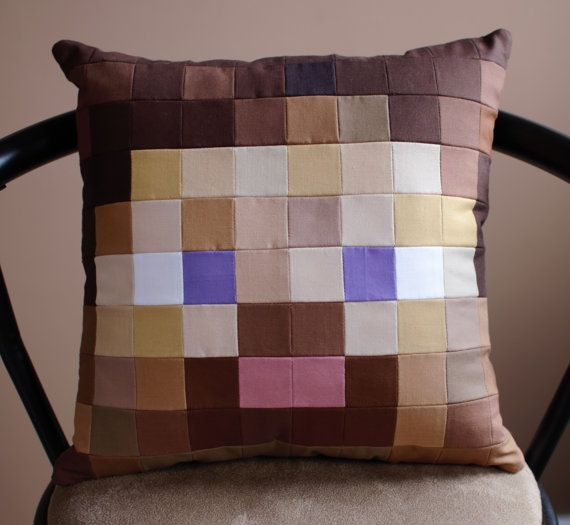 Check out this item in my Etsy shop https://www.etsy.com/ca/listing/454207678/minecraft-inspired-steve-quilted-throw