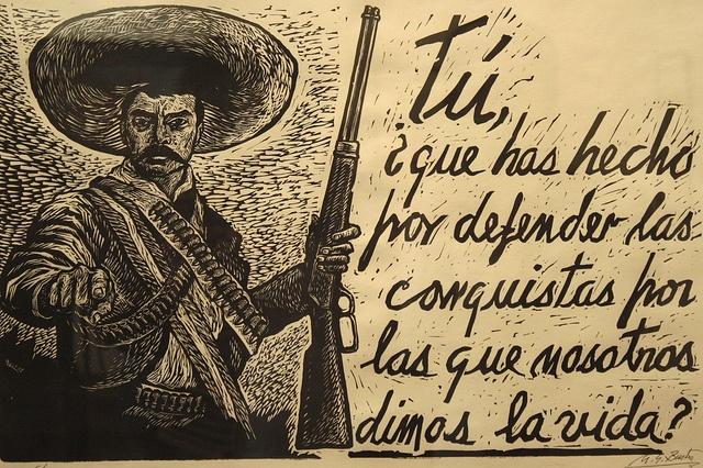 Emiliano Zapata by jkarmyc, via Flickr