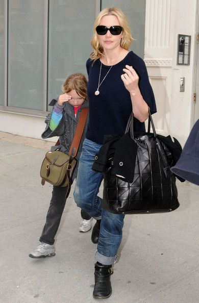 Kate Winslet Photos: Kate Winslet With Her Daughter Mia 2
