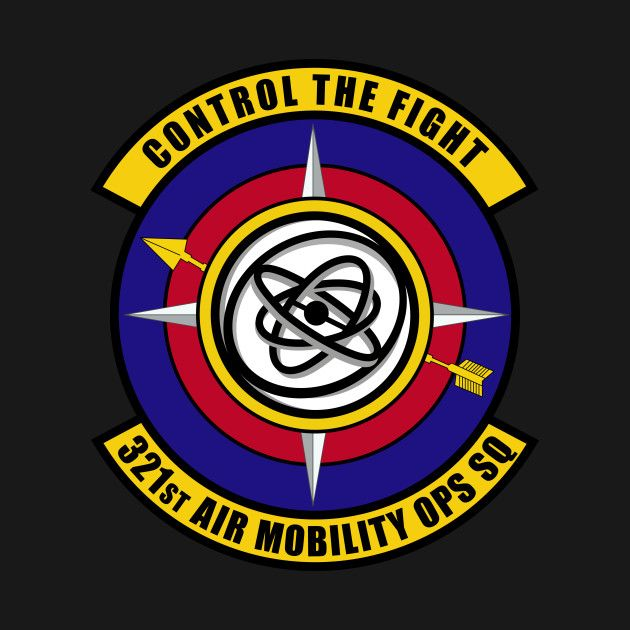 Check Out This Awesome 321st Air Mobility Ops Sq Control