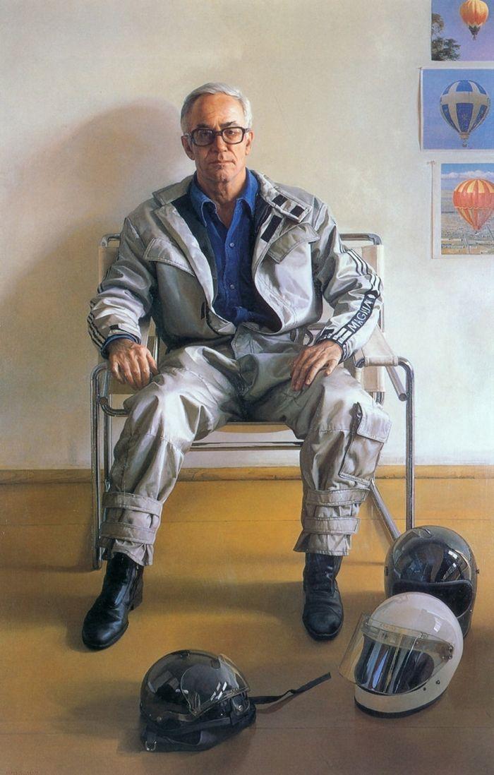 Claudio Bravo (1936 – 2011) Portrait of Malcolm Stevenson Forbes