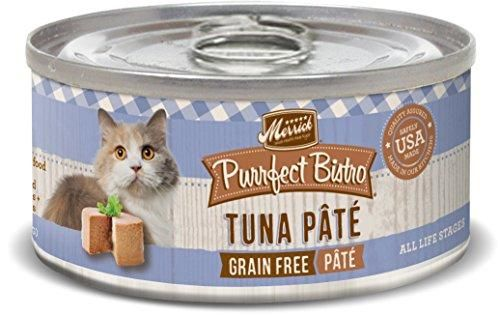 Merrick Purrfect Bistro Tuna Pate Grain Free Cat Food, 24 Pack