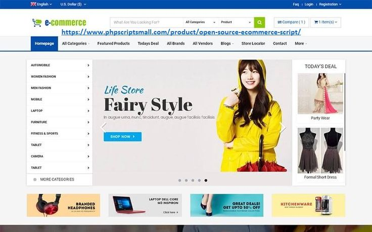 """If you are looking for the entire necessities to develop your own """"Online store"""" to sell through online then our Open source Ecommerce script is one of the best built online stores. This php shopping cart script has very attractive presentation such that it maintains to make sure that customers sustains on the site for a long time and come back to the site again for their next-next purchases. Contact +91 9841300660"""