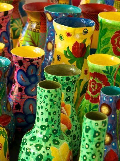 accras:  Vases from Haiti