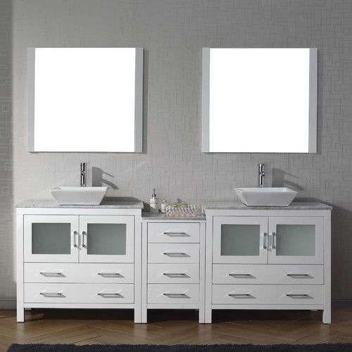 found it at wayfair dior 83 double bathroom vanity set with mirror