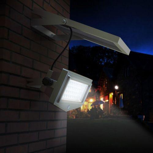 NUOVO faretto ad energia solare dalle prestazioni elevate..1000 lumen flusso luminoso, pannello solare fotovoltaico da 5W, batteria interna. Riesce a supportare 5 notti di accensione in caso di maltempo!
