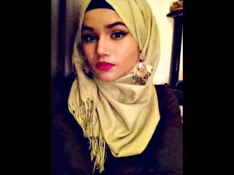 #7.HOW TO WEAR A HIJAB WITH EARRINGS | Minazification