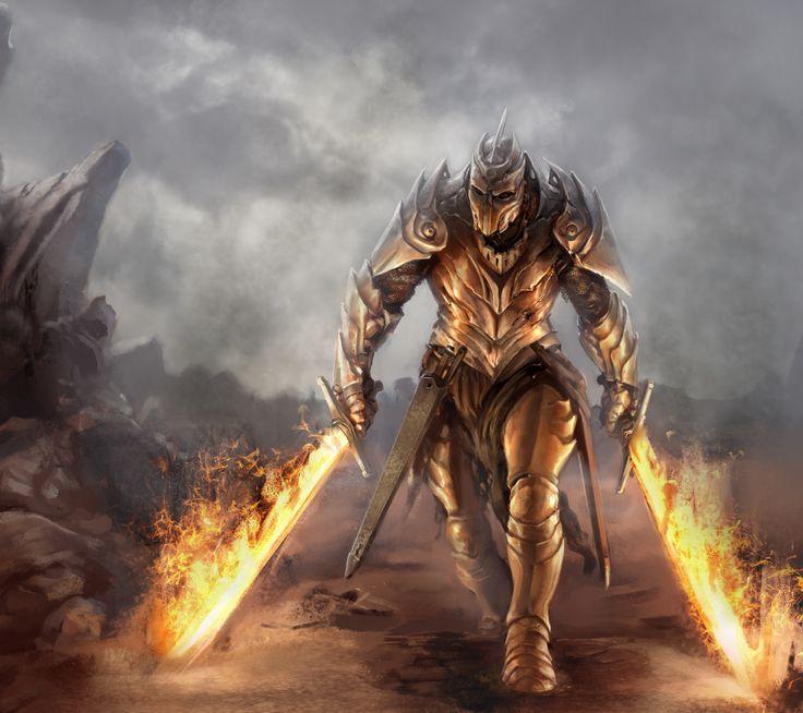 Alastair defending Image result for fantasy warrior