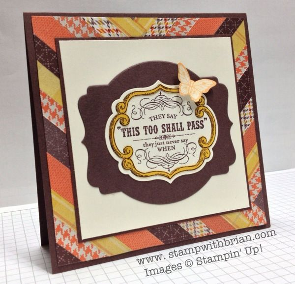 From My Heart, Papillon Potpourri, Stampin' Up!, Brian King