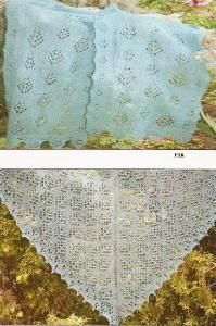 Queen Anne's Lace Forest Scarves III Pine And Fir