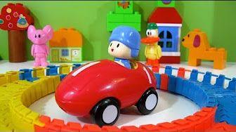 Pocoyo Park NEW Block Labo World Block Bandai - Juguetes de Pocoyo - YouTube