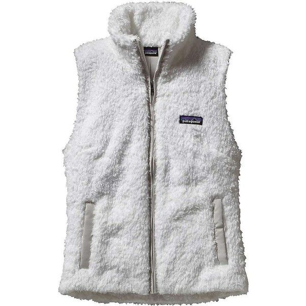Patagonia Women's Los Gatos Vest ($99) ❤ liked on Polyvore featuring outerwear, vests, birch white, long vest, vest waistcoat, patagonia, long white vest and pocket vest