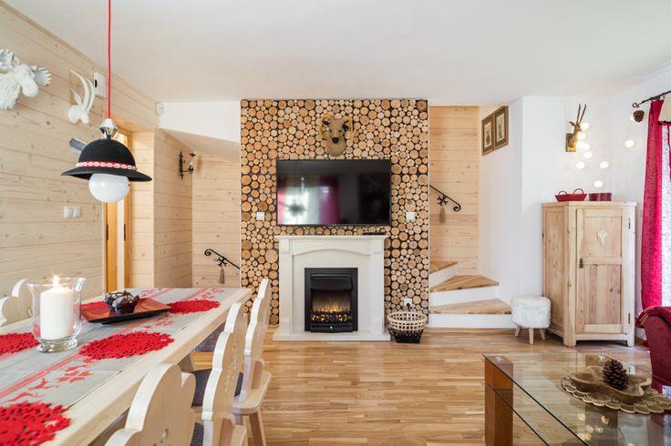 Dom góralski do wynajęcia Malina Zakopane for rent living loghouse travel design ludowy