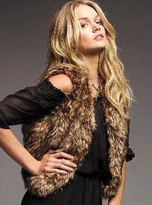 love *fake* fur vests