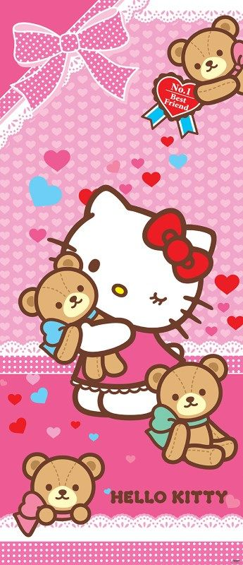 colant usa Hello Kitty and teddybears 2