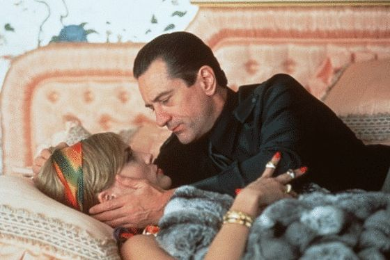 Casino (Martin Scorsese, 1995) Robert De Niro as Sam 'Ace' Rothstein & Sharon Stone as Ginger.