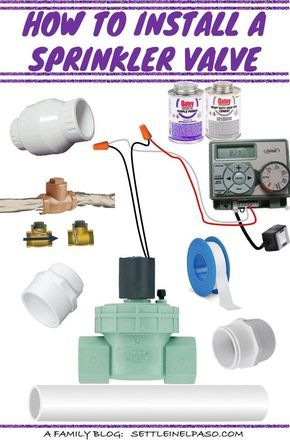Installing a sprinkler valve is not that difficult. In fact we did it ourselves. We thought this tutorial would help if anyone plans to do it himself or herself. #sprinkler #irrigation #skrinklervalve #gardening #homegarden #gardendiy #diy