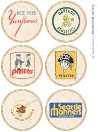 vintage baseball party