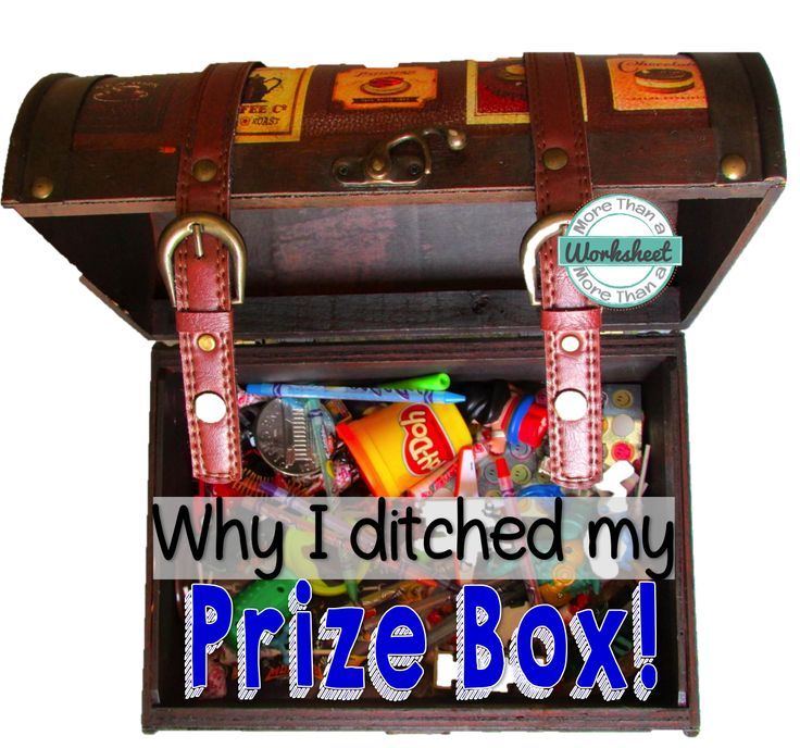 Why I ditched my prize box                                                                                                                                                     More