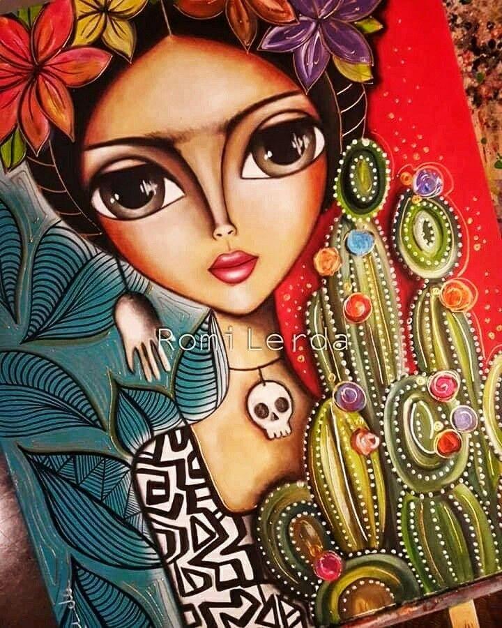 Romi Lerda Obras Frida Kahlo Dibujo Pinturas Frida Art