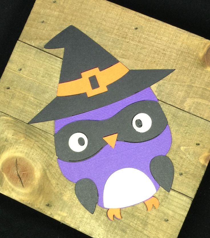 """These Halloween decorated owls are perfect for your owl themed classroom or just to help you decorate for fall! These owls are made from card stock and measure approximately 5 1/2"""" x 4 1/2"""". These owl"""