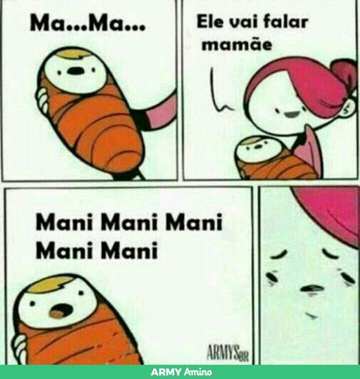 Meu filho nasceu ARMY