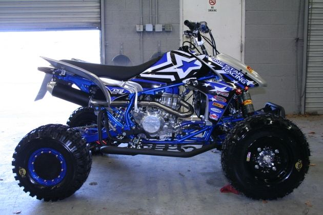 Ltr Blue Frame Paint