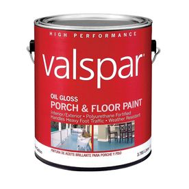 Valspar 116 Fl Oz Exterior Gloss Porch And Floor Tintable Oil Base Pa