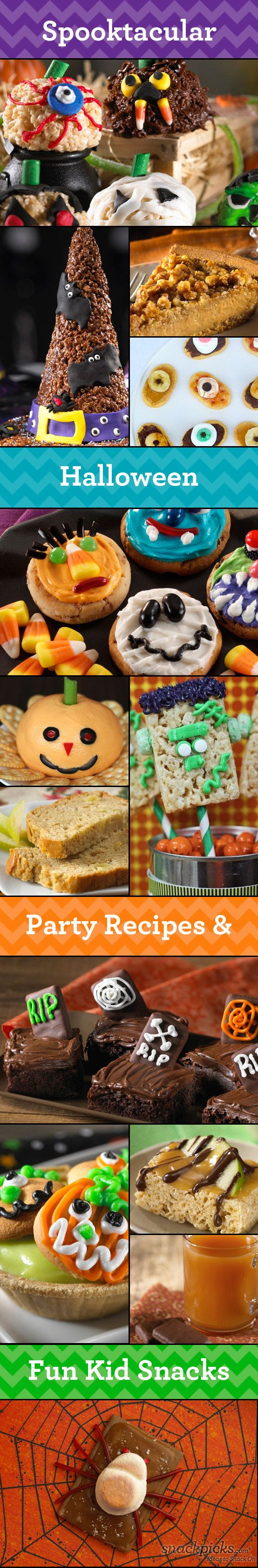 Halloween Recipes, Ideas and Fun! From @Ideas To Snack On