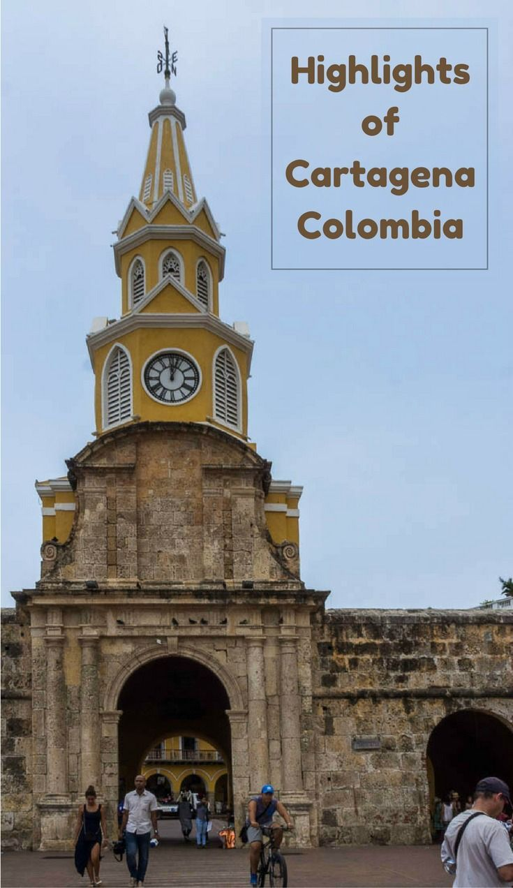 Highlights and photos of Cartagena Colombia.