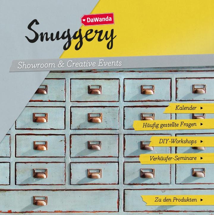 DaWanda Snuggery | Windscheidstraße 19 | 10627 Berlin | Öffnungszeiten:   Di.-Sa. 12-19Uhr