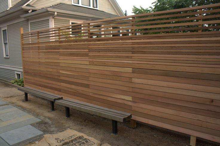10 best Portail images on Pinterest Privacy fences, Backyard patio