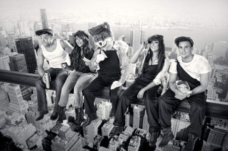 Living on the edge with the cast of Geordie Shore..