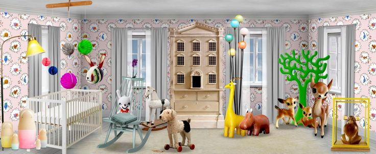 'Nursery - come and play with me' created in #neybers