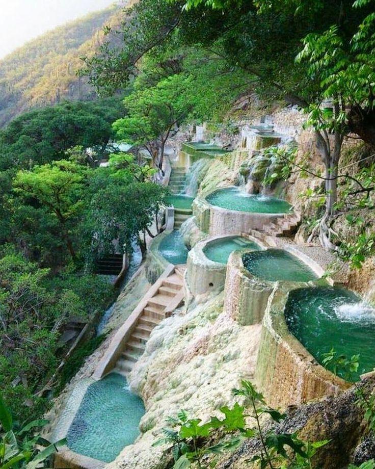 Grutas De Tolantongo hot springs, a day trip from Mexico City